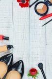 Stillleben der Modefrau Stockbild