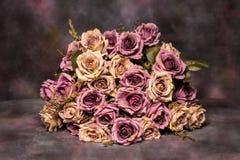 Stillleben mit Blumenblumenstrauß Lizenzfreies Stockfoto