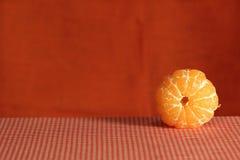 Stillleben mit Mandarine. stockfotografie