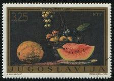 Stillleben mit Melonen durch Konstantin Danil Lizenzfreies Stockfoto