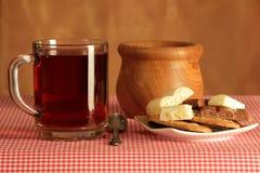 Stillleben mit Tee Lizenzfreies Stockfoto