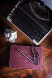 Stillleben Verfasser- oder authurwerkzeuge. Stockfoto