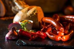 Stillleben von Fleischwaren Lizenzfreie Stockbilder
