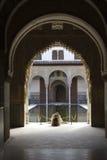 The stillness of Alhambra. The stillness of the Alhambra. Granada, Spain royalty free stock photography