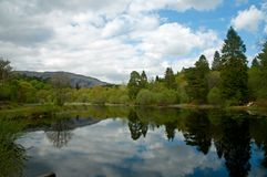 Stillness of the loch Royalty Free Stock Image