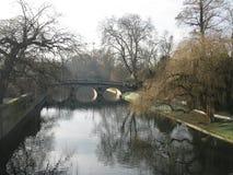Stillsam flodkam Royaltyfri Fotografi