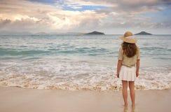 stillsam strand Royaltyfri Foto
