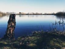 Stillsam vårdag i Lincolnshire Fotografering för Bildbyråer