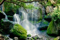 Stillsam vattenfall Arkivbilder