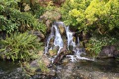 Stillsam vattenfall Arkivfoton
