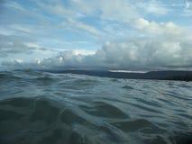 Stillsamma vågor Arkivbilder