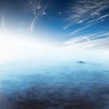 Stillsamt hav arkivbild