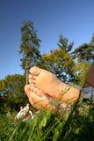 Stillstehende Füße lizenzfreie stockfotografie