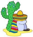 Stillstehender Mexikaner