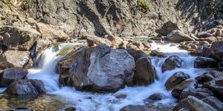 Stillwater河在蒙大拿 免版税库存图片