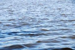 Stillwater och våg Royaltyfria Foton