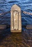 Stillwaterpyloon Royalty-vrije Stock Afbeelding