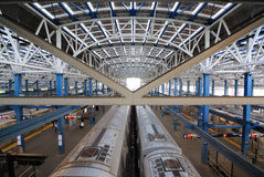 Stillwell Alleen-Station in der Coney-Insel Lizenzfreie Stockfotos