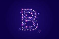 Stilsort - typografidesign också vektor för coreldrawillustration Royaltyfria Bilder