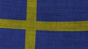stilsweden för tillgänglig flagga glass vektor stock illustrationer