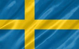 stilsweden för tillgänglig flagga glass vektor vektor illustrationer