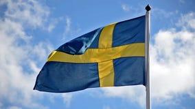 stilsweden för tillgänglig flagga glass vektor arkivfilmer