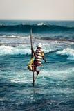 Stilt Fisherman Stock Photos