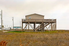 Stilt House in the Bayou Stock Photo