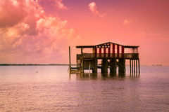 Stilt House Royalty Free Stock Photo