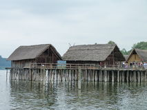 Stilt houses Royalty Free Stock Photography