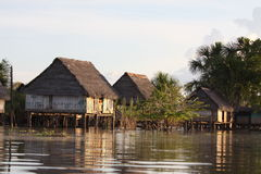 Stilt Houses Stock Images