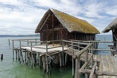 Stilt houses Stock Images