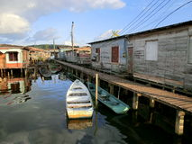 Stilt houses Stock Photos
