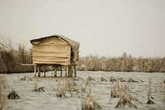 Stilt hut Royalty Free Stock Images