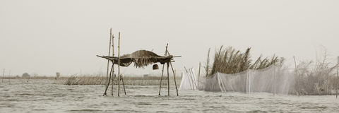 Stilt hut Stock Images