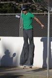 Stilt Walker Royalty Free Stock Photography
