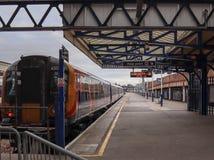 Stilte op het platform stock foto's