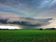 Stilte vóór het onweer stock afbeelding