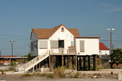 Stilted house in southern Texas. USA Royalty Free Stock Photos