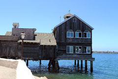 Stilted house Royalty Free Stock Image