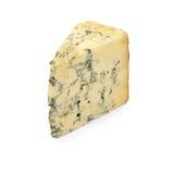 Stilton cheese. Stilton cheese isolated on white Stock Images