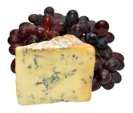 Stilton Cheese And Grapes Royalty Free Stock Photography