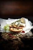 Stilton Käse lizenzfreie stockfotos