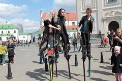stilts Stock Foto