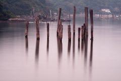 Stilts in Hong Kong Royalty Free Stock Images