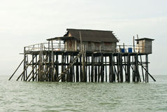 Stilts House Royalty Free Stock Photo