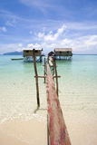 Stilts houses Royalty Free Stock Images