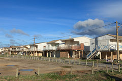 Stilts houses Royalty Free Stock Image