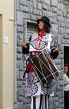 Stilts Performers in Italy Stock Photo