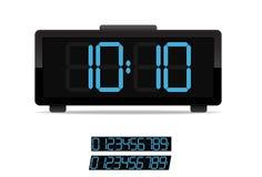 Stilvolle Digitaluhr Stockbild